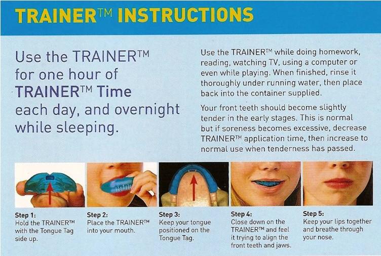 trainerinstructions